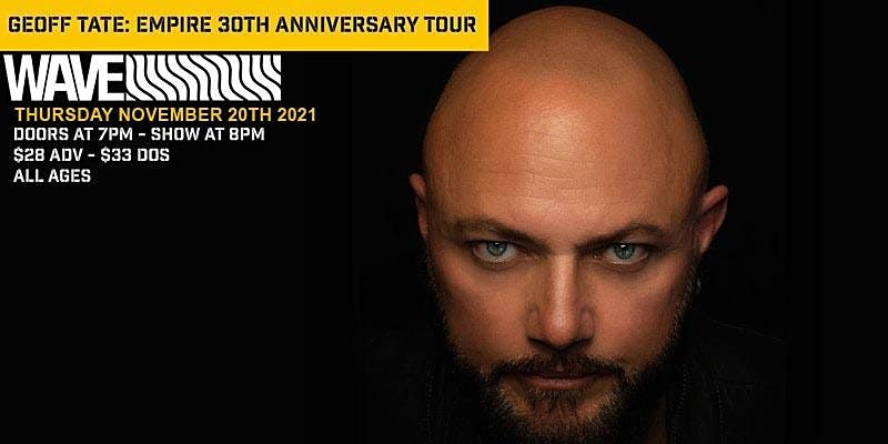 Geoff Tate: Empire 30th Anniversary Tour
